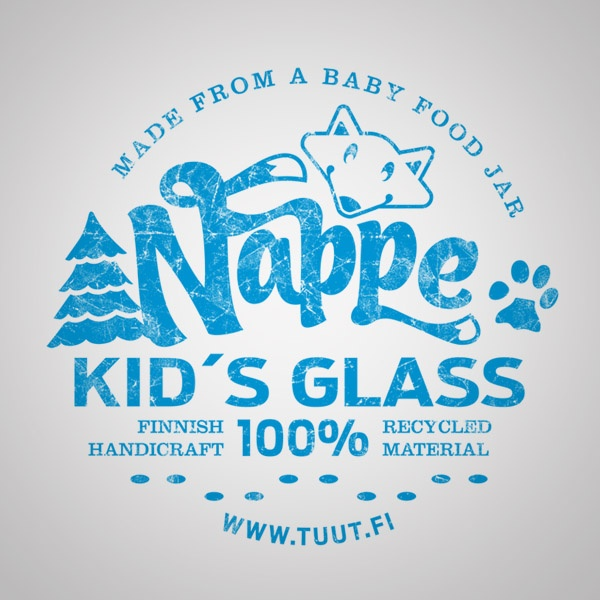 Identity for recycled kid´s glass