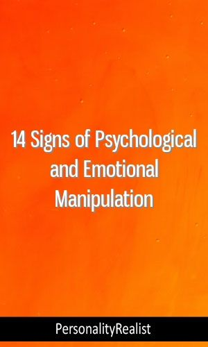 14 Signs of Psychological and Emotional Manipulation #MBTI#INTP
