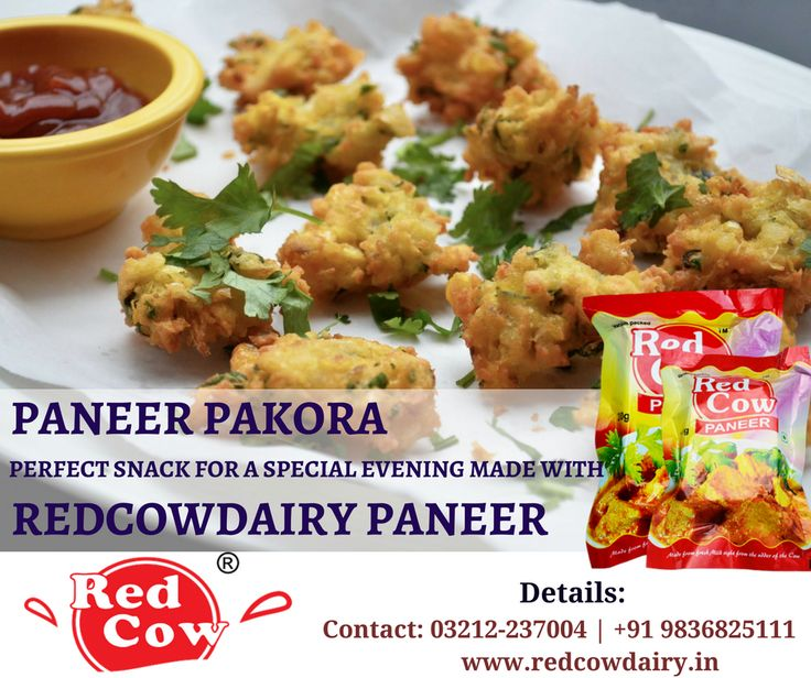 Make a perfect snacks for evening with RedCowDairy Paneer Order now: +91 9836825111