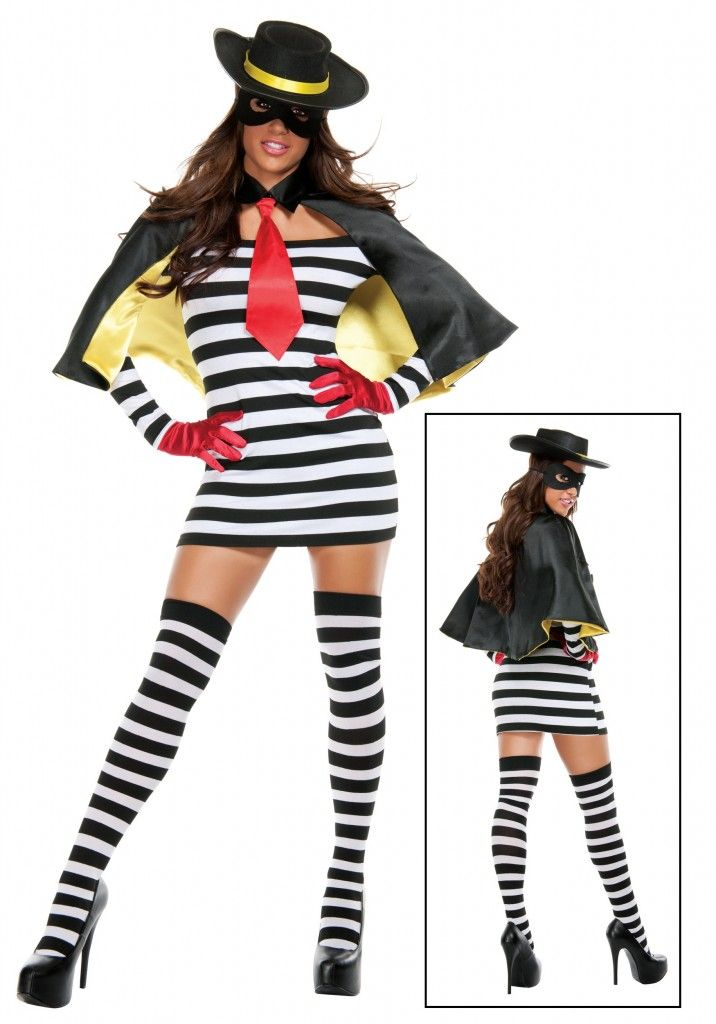 Hmmmm, why didn't the Hamburglar look like this when I was growing up? Is this what Ronald McDonald has waiting for him at home on date night? lol. #halloween #costume #fun #sexy #food