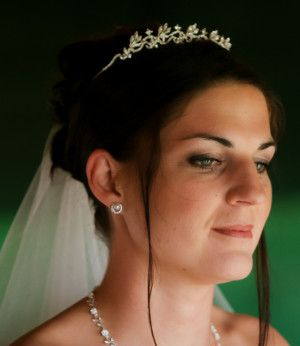Bridal make up by Michelle Speirs from Craik Speirs Hair & Beauty