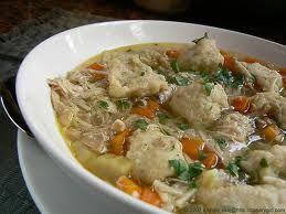 Panera Bread Chicken and Dumplings