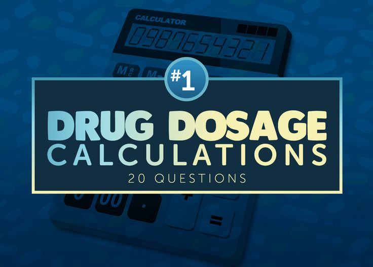 Practice drug dosage calculation for the NCLEX with this 20-item questionnaire; includes metric conversions, dosage calculations and more.