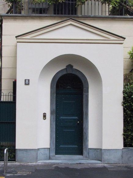 Particolare portone d'ingresso blindato - Fratelli Brivio #door