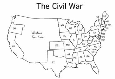 Printables Civil War Map Worksheet civil war map worksheet versaldobip davezan