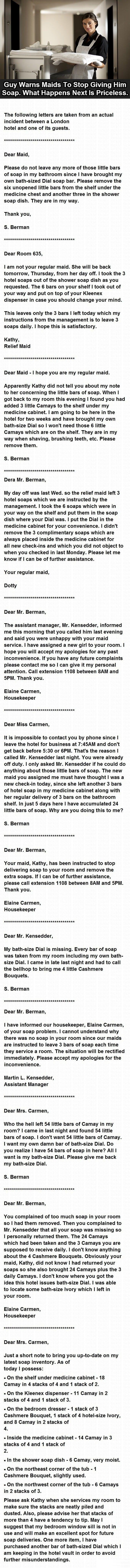 Best hotel exchange ever
