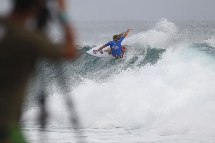 Quiksilver Pro Gold Coast WSL Men's Samsung Galaxy Championship Tour #1 Window: Day 4 of 12 Gold Coast, Queensland, Australia WORLD SURF LEAGUE Wade Carmichael eliminated in Round 2 - WSL WORLD SURF LEAGUEPhKelly CestariWSL