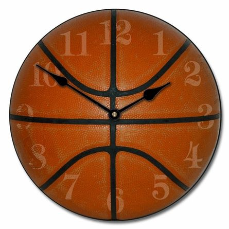 for Jack....Slam Dunk Basketball Kids Clock