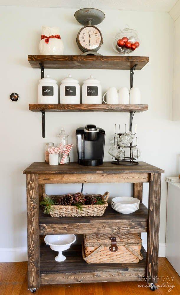 124 best Coffee Bar Ideas images on Pinterest
