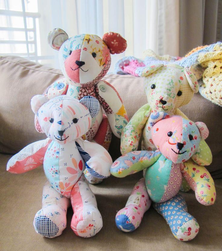 1000 Ideas About Teddy Bear Patterns On Pinterest Bear