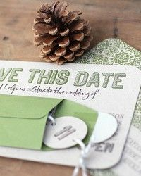 printable save the date --- i like the circles with the numbers printed!
