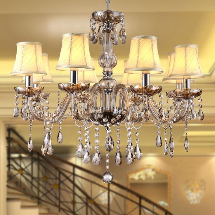 39.80$  Buy now - http://alicah.shopchina.info/go.php?t=32765407474 - Modern Cognac Crystal Chandeliers Lighting Hanging Light Contemporary Cristal Glass Chandelier Light Home Hotel Restaurant Decor 39.80$ #aliexpress