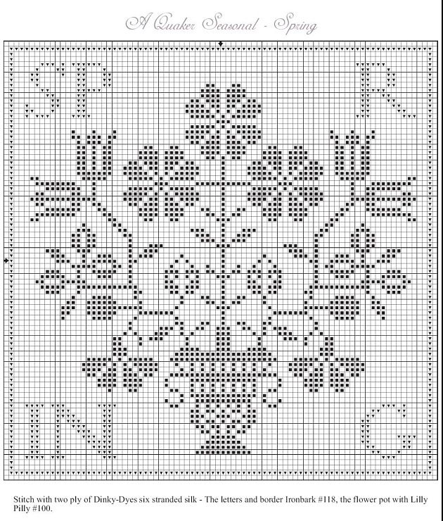 297 best Cross Stitch Patterns - Four Seasons images on Pinterest - cross stitch graph paper