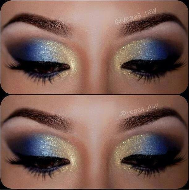 Blue eyeshadow  Hey girl hey do you want to learn how to be more fab, fierce and free?  Follow my blog to learn fun fab tips and strategies @ http://fabfiercefreedom.com/