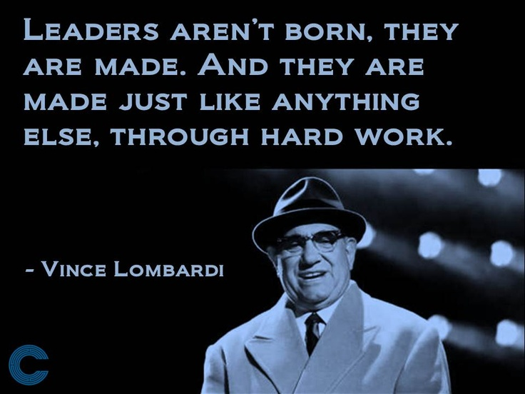Leadership & Management. Leaders are made through hard work! Learning and understanding authentic leadership skills. www.callancourse.com