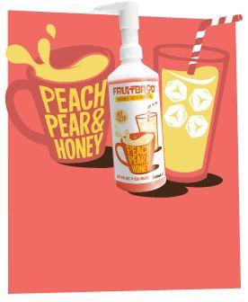 Peach Pear & Honey 500ml #juicy #fruit #tea