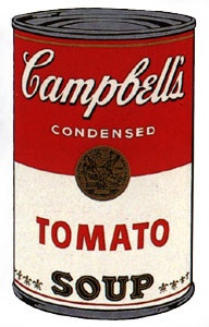 Andy Warhol, Sunday B. Morning - Soup Can, Tomato on eBid United States