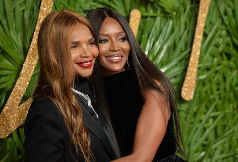 Naomi Campbell Mom Valerie Morris - Naomi Campbell Mom Anti-Aging
