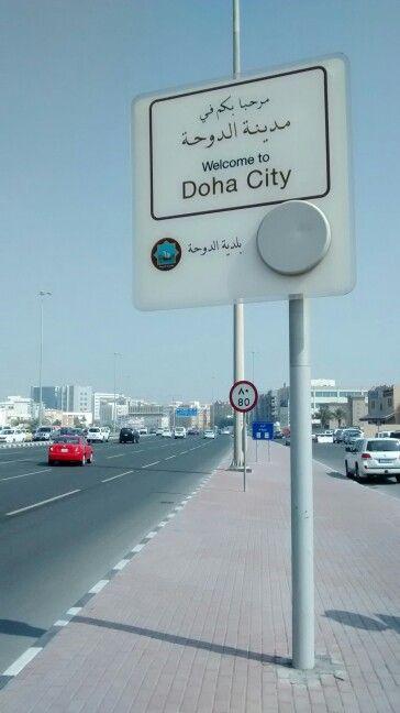 Welcome to Doha city, Qatar