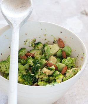 Avocado and broccoli salad - this is my new 'go-to' lunch. Delicious, healthy and very filling!