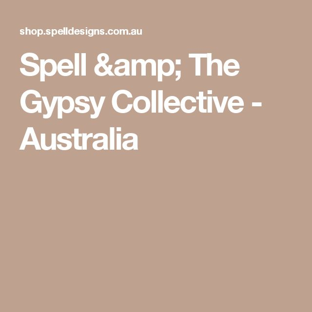 Spell & The Gypsy Collective - Australia