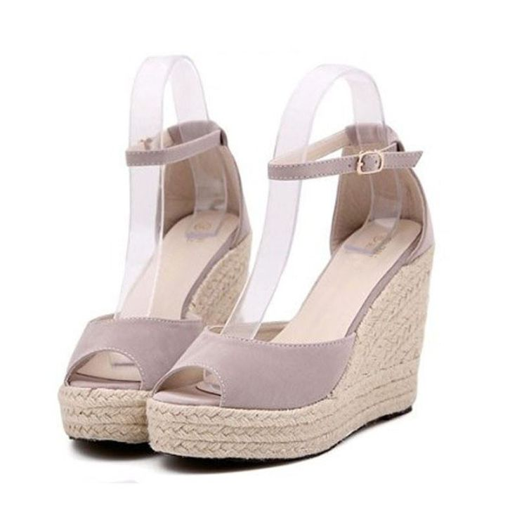 Marfin Wedges High Platform Open Toe Shoes