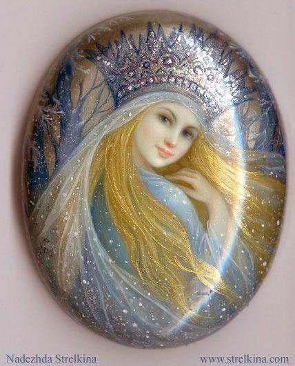 Nadezhda Strelkina glitter fairy art