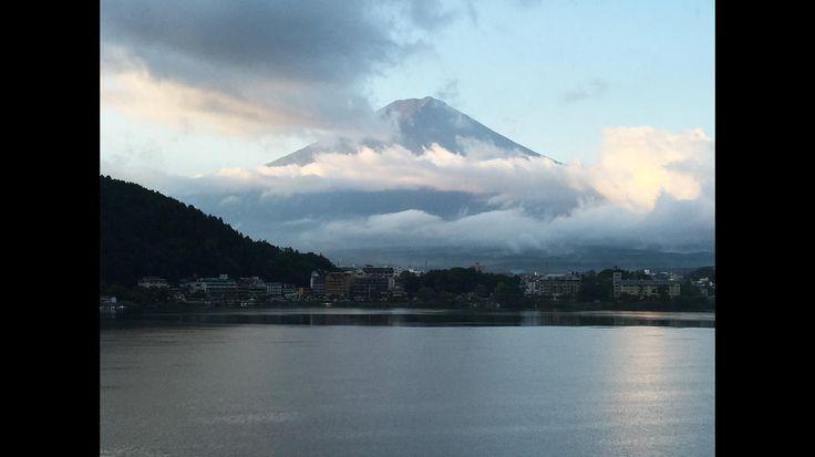 L.A. Times reader John Ellis took this photo of Mt. Fuji  Fujikawaguchiko, Japan
