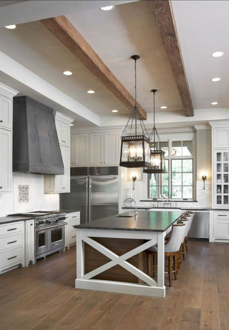 39 Big Kitchen Interior Design Ideas For A Unique Kitchen: Best 25+ Farmhouse Kitchen Island Ideas On Pinterest