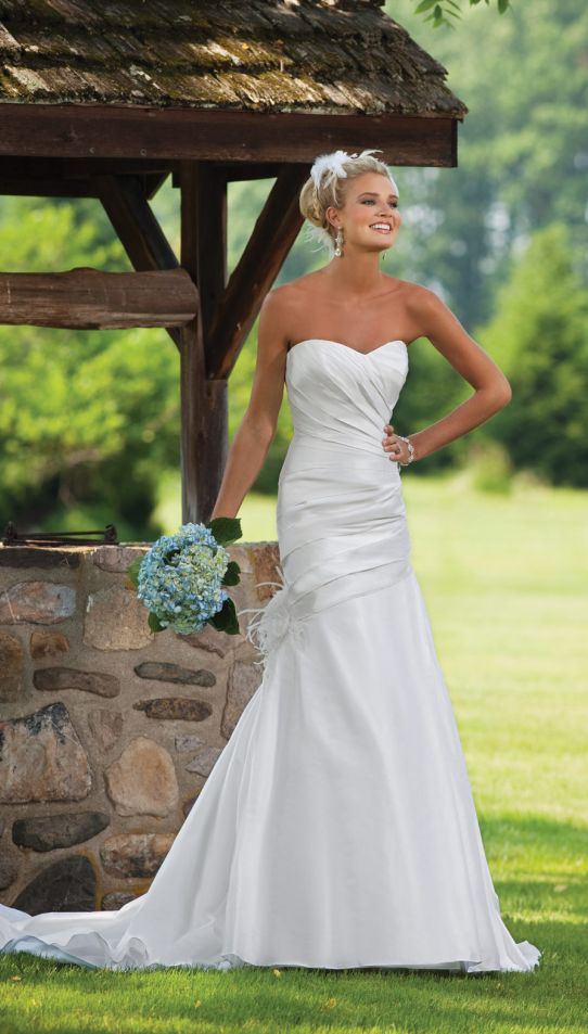 beautiful beach wedding dresses