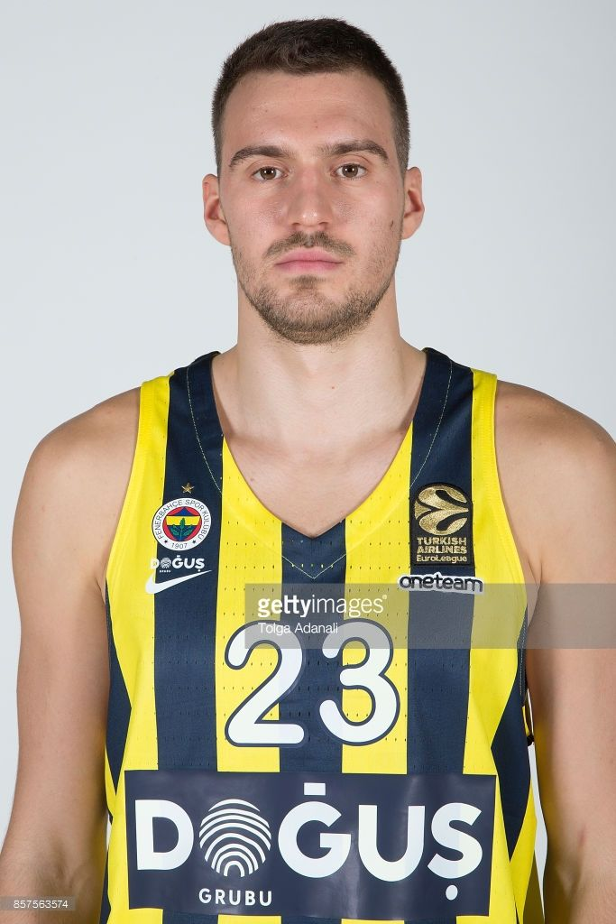 Marko Guduric, #23 poses during Fenerbahce Dogus Istanbul 2017/2018 Turkish Airlines EuroLeague Media Day at Ulker Sports Arena on October 2, 2017 in Istanbul, Turkey.
