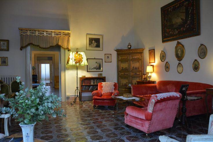 Una delle stanze del castello Dentici di Frasso a San Vito dei Normanni (Br)