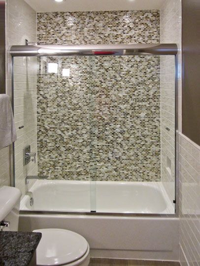 1000 images about guest bathroom on pinterest glass for Sliding glass doors tub