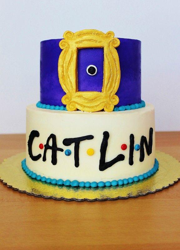 "Mindy's Bakeshop - Austin Cakes - ""Friends"" themed cake"