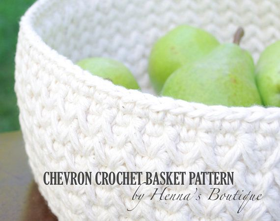 Hey, I found this really awesome Etsy listing at https://www.etsy.com/listing/205802139/crochet-basket-pattern-chevron-crochet