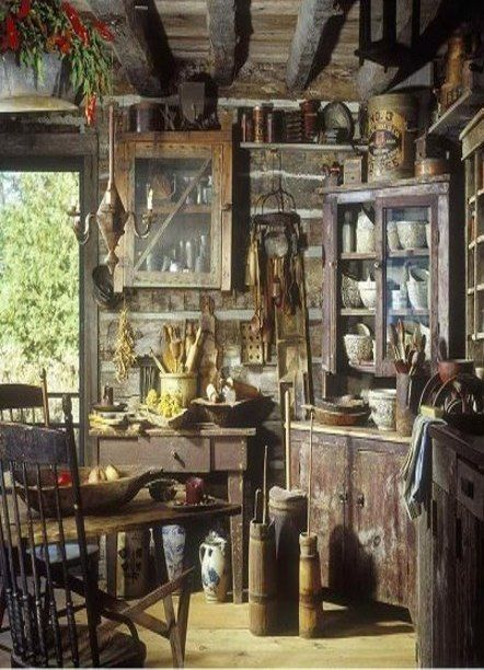 Inside Of Old Farm Home Many Years Ago, AKA Hobbit Hole!