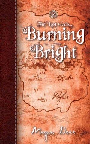 Burning Bright by Megan Derr  GLBT Fantasy  ♥♥♥♥♥5Hearts