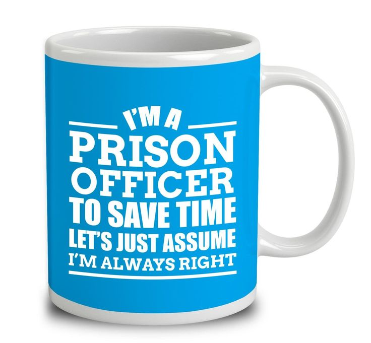 I'm A Prison Officer To Save Time Let's Just Assume I'm Always Right