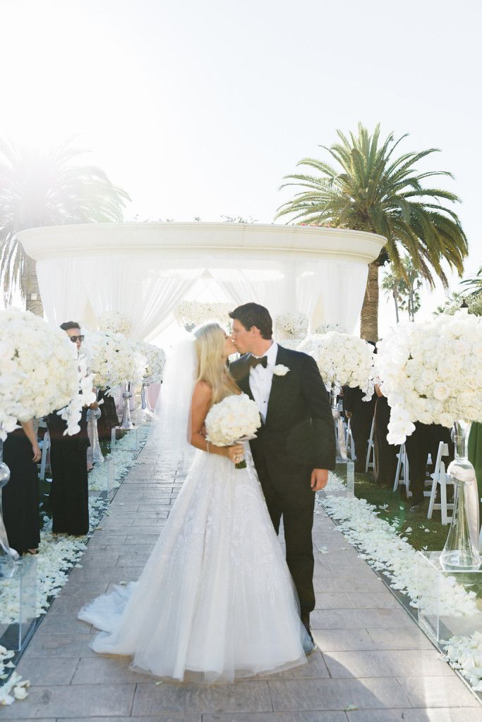 | aboutdetailsdetails.com | St Regis Monarch Beach | Jana Williams Photography | Wedding Fashion | Bride And Groom | Ceremony | White Wedding | Wedding Kiss | You May Kiss Your Bride | See more at loveluxelife.com #loveluxelife