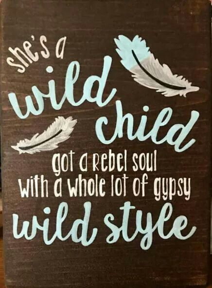 ☮ American Hippie Art ☮  Wild Child