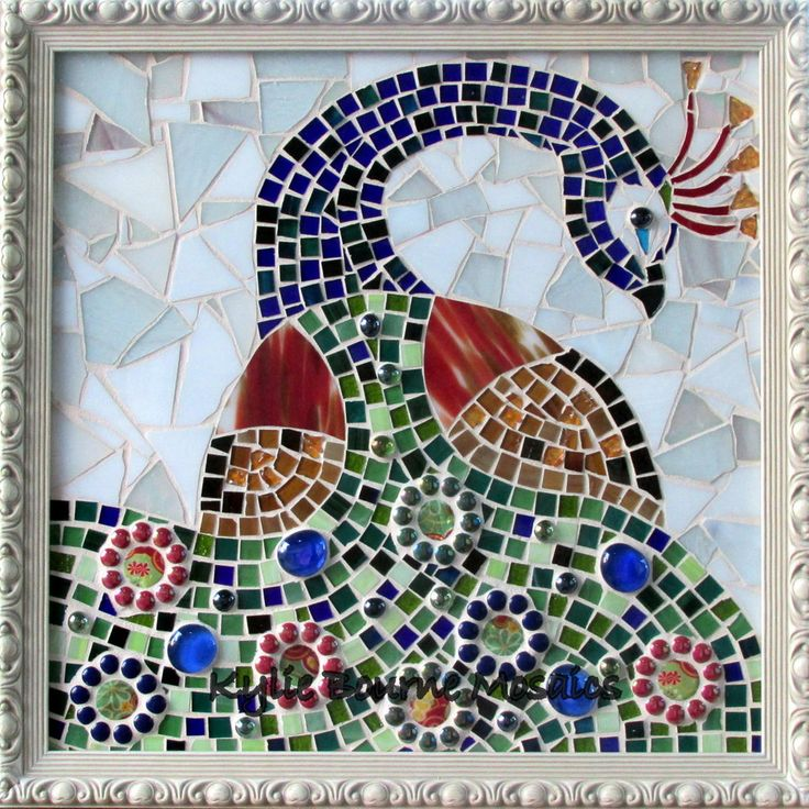 Peacock n Pretty Mosaic
