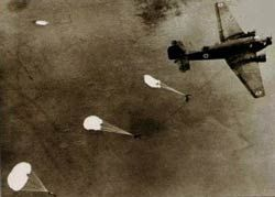parachutits at the battle of Crete