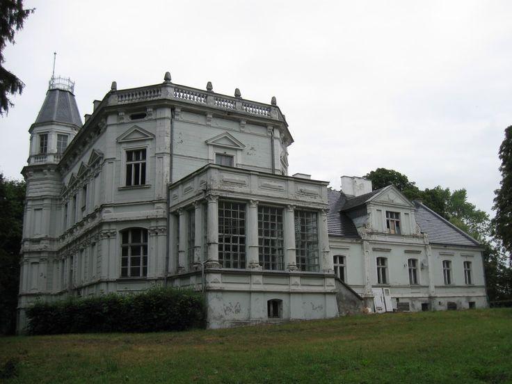 Manor house, Nowa Wies Rzeczna, Pomorskie province, Poland.