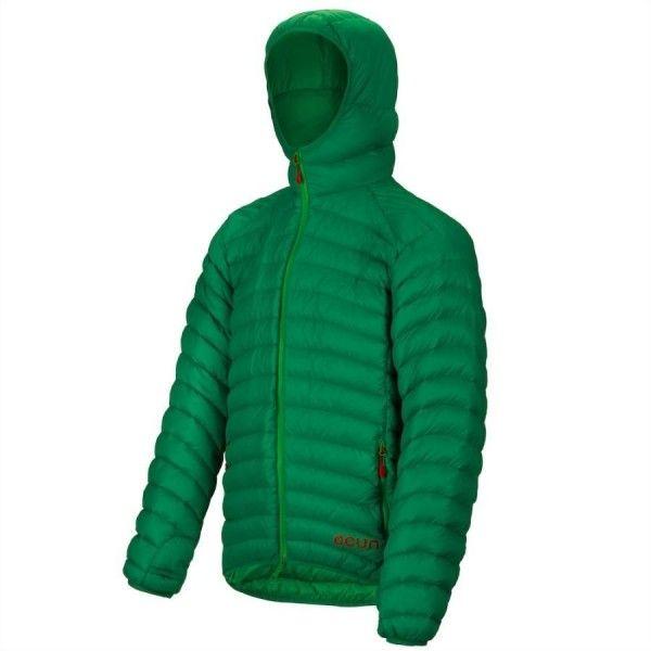 Pánska bunda Ocún Tsunami Down Jacket Men je ultraľahká páperová bunda. Bunda Ocún Tsunami Down Jacket Men je vyrobená z extrémne ultraľahkého materiálu navrhnutého špeciálne pre športové odevy plnené páperovou náplňou.