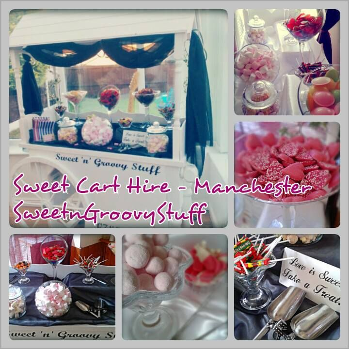 #SweetCart #Candy Buffet for Hire #Manchester #sweetngroovystuff #sweet #cart