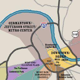 Nashville Maps