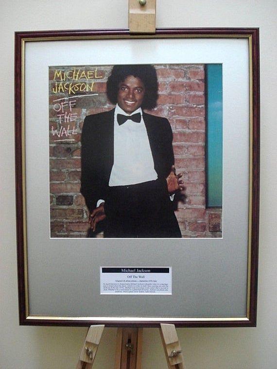 Michael Jackson Off The Wall Original Framed Album Cover Off The