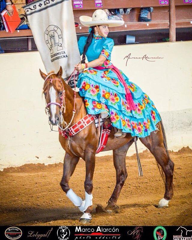 Belleza Charra, Cara femenina de la Charreria, Escaramuza ...