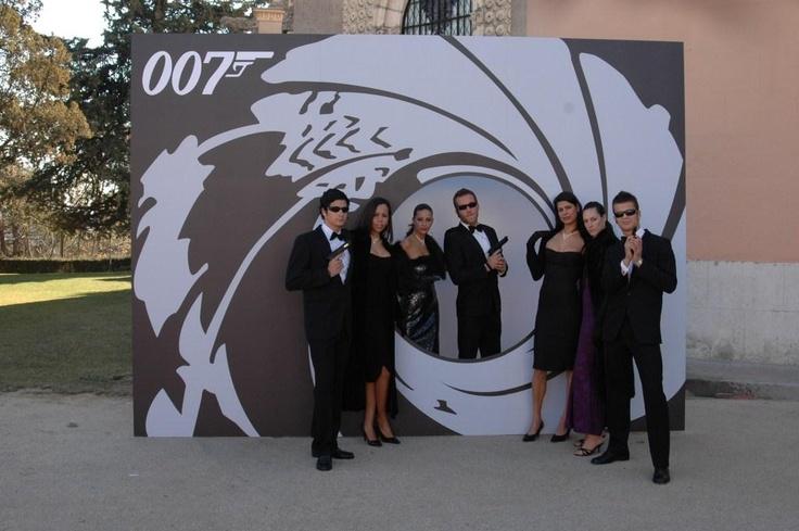 Animacion Fiesta James Bond