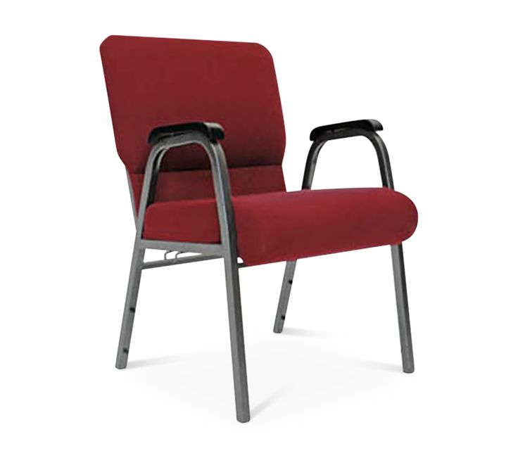 Superior CHURCH CHAIR WITH ARMS: A Well Constructed, Padded, Stackable Chair  Designed For Church
